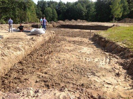 выемка грунта в Саранске